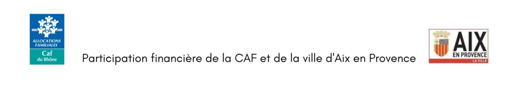 Participation financière de la CAF et de la Ville