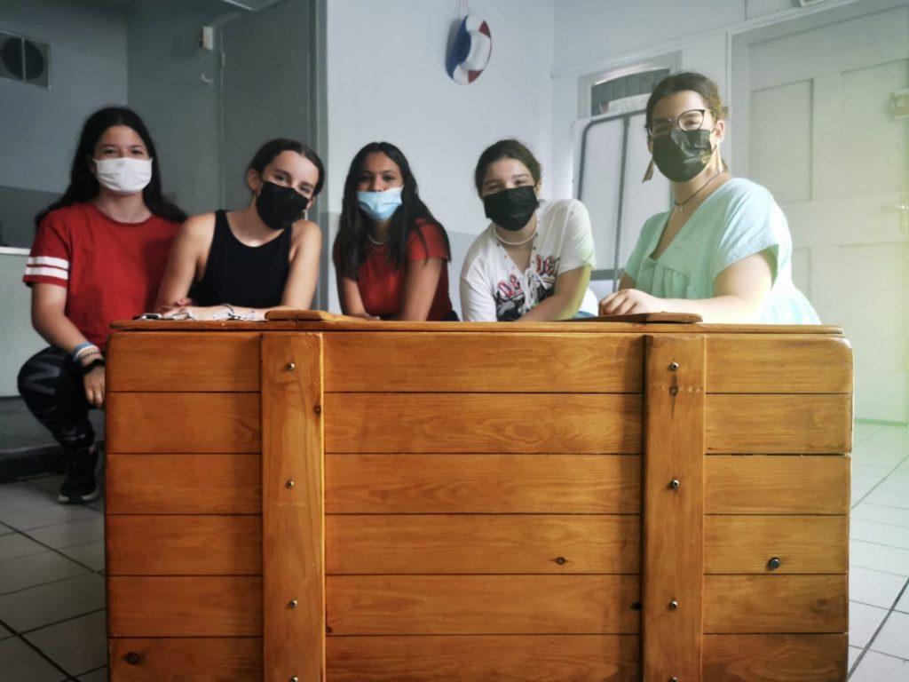 Escape Game - groupe des filles
