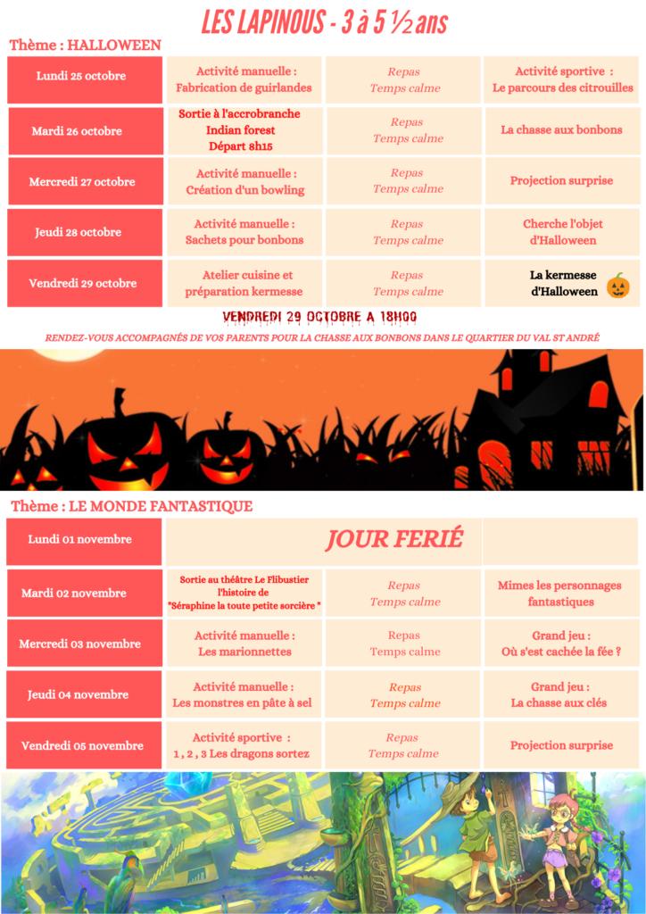 Programme d'activité vacances de la Toussaint (5)