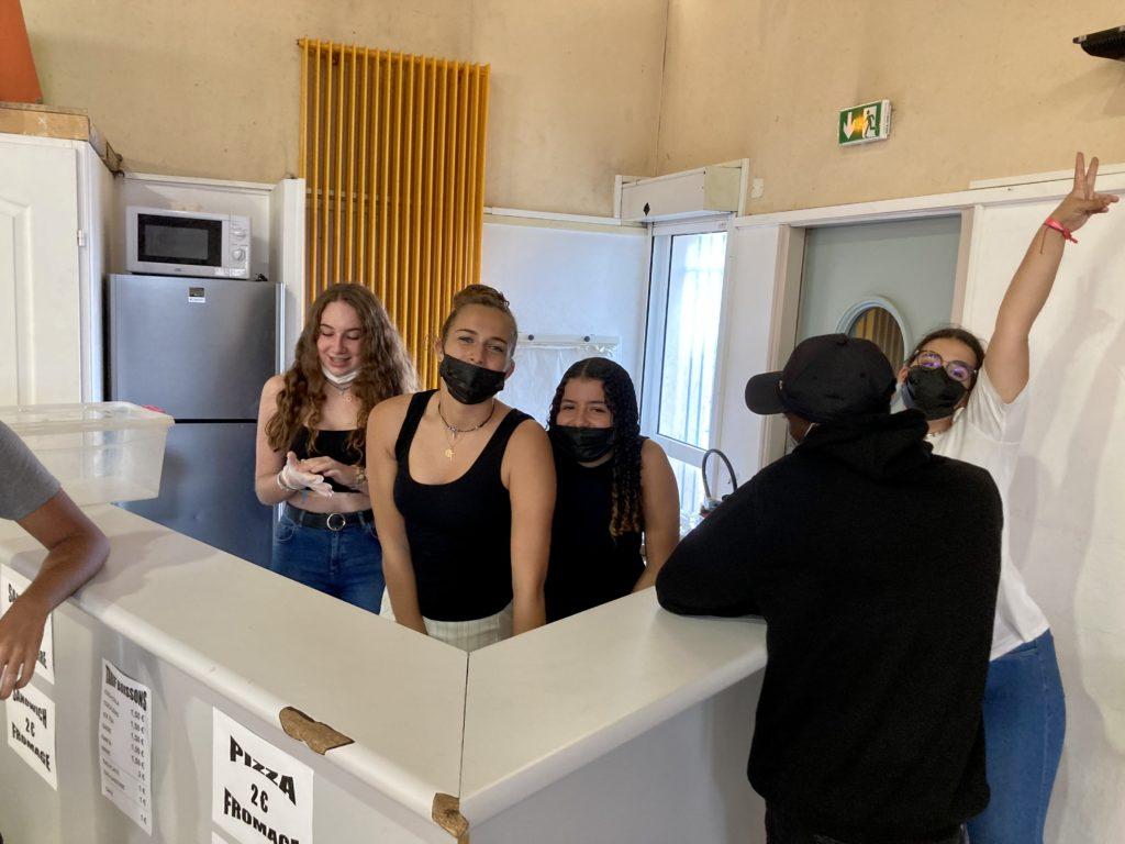 Les jeunes dans l'organisation du loto